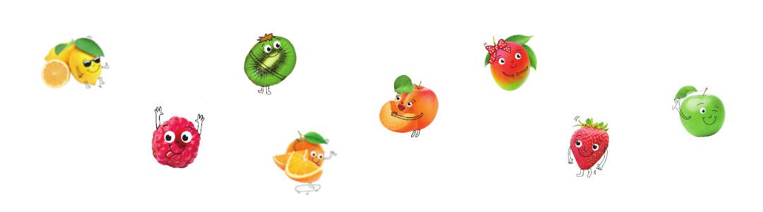 Bloc Traubenzucker Früchte