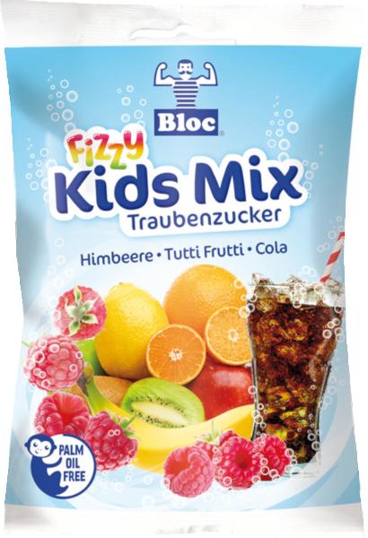 Bloc Traubenzucker Fizzy Mids Mix Beutel Packshot