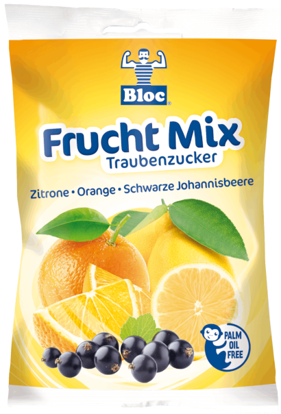 Bloc Traubenzucker Frucht Mix Beutel Packshot