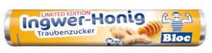 Bloc Traubenzucker Honig Ingwer Rolle